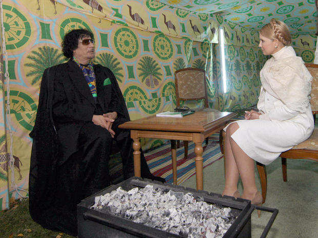 Ukrainian opposition leader Yulia Tymoshenko