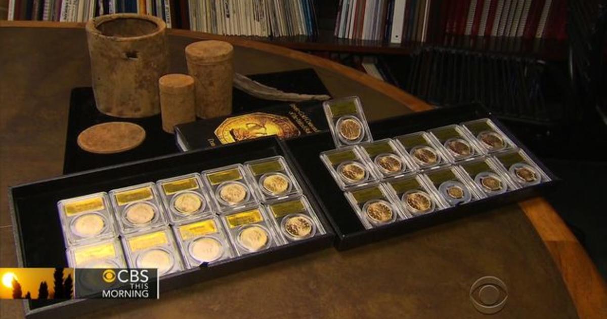California Gold Coins Found In Backyard buried treasure: california couple finds rare u.s. gold coins in
