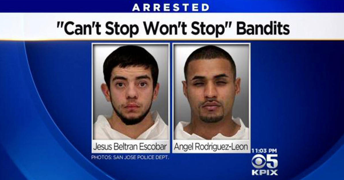 """""""Can't Stop Won't Stop Bandits"""" Stopped By San Jose"""