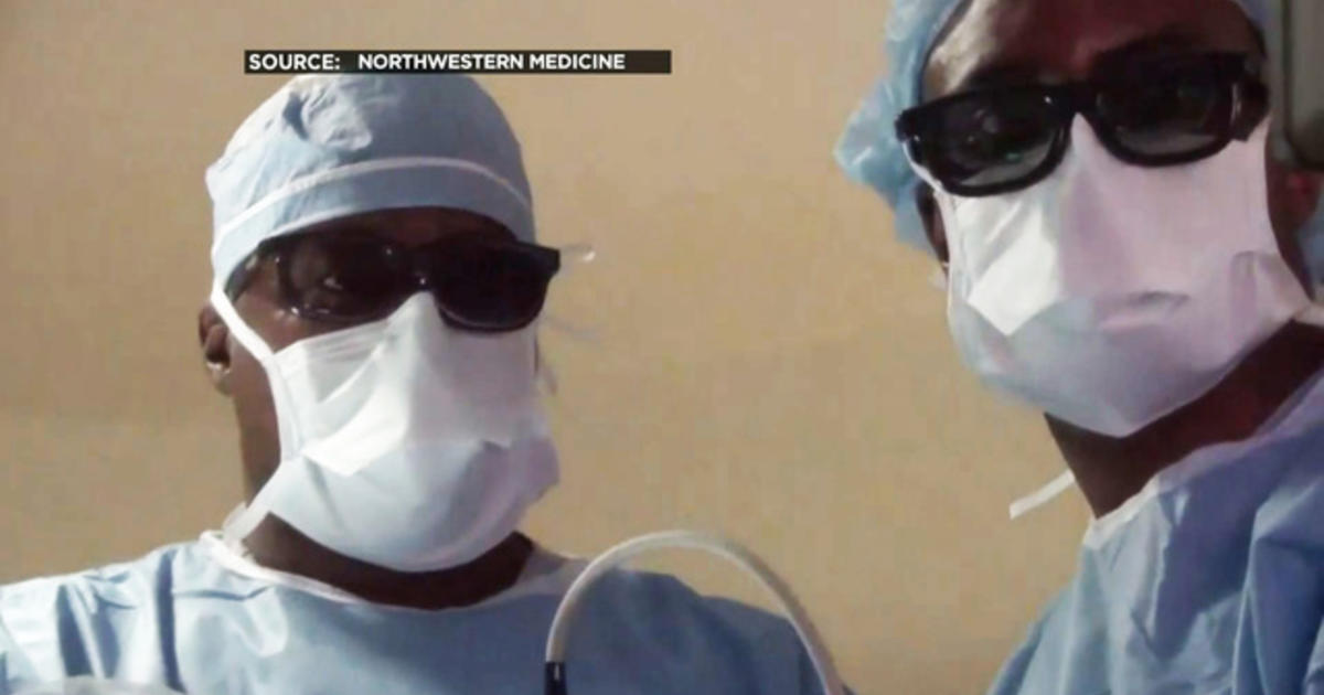 3D glasses used by doctors in brain surgery