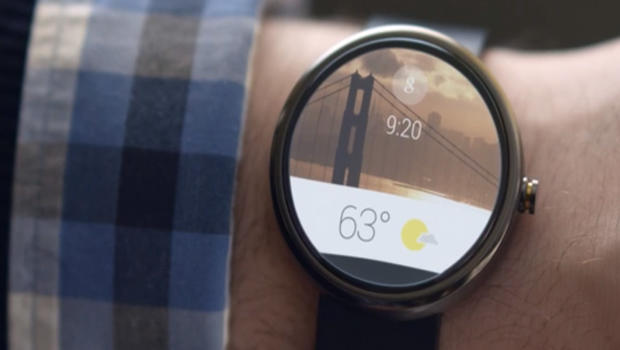 Google announces Android Wear for smartwatches