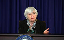 Yellen explains Fed move to drop jobless-rate gauge