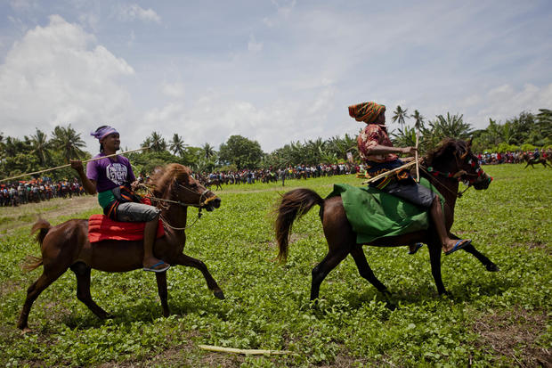 Jousting in Indonesia