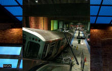 Chicago train derailment: Dozens hurt as train jumps platform at O'Hare Airport