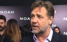 """Russell Crowe, """"Noah"""" stars attend N.Y. premiere"""