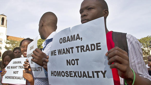 Uganda against homosexuality video