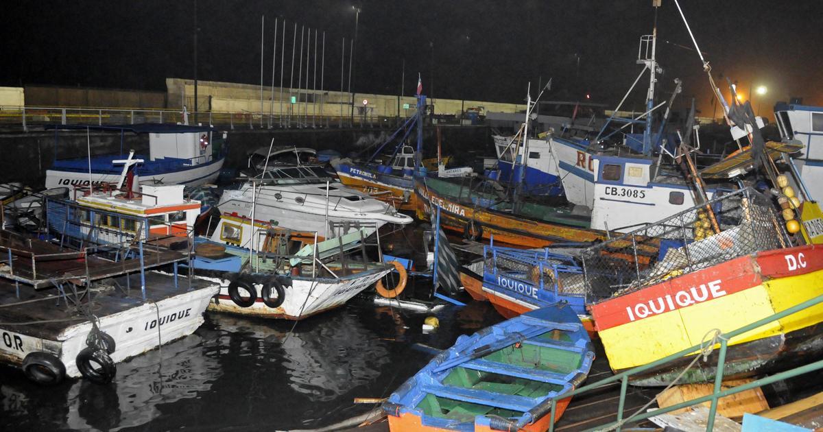 Antofagasta chile chile earthquake triggers tsunami for Vivero antofagasta