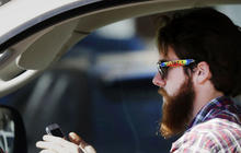 Texting behind the wheel: New ad campaign targets distracted driving