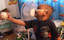 Toddler home recovering after five-organ transplant