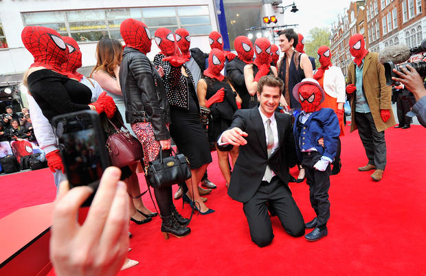 """The Amazing Spider-Man 2"" premiere"