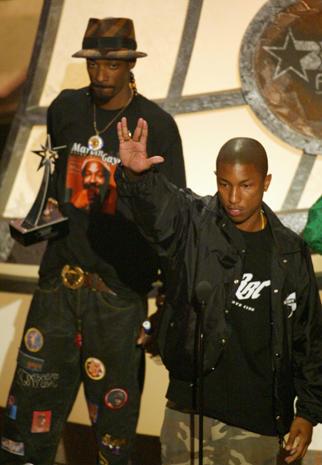 Pharrell Williams and Snoop Dogg - Pharrell Williams
