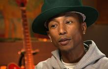 "Pharrell Williams on success: ""I've been hoisted up"" by others"
