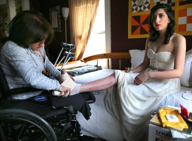 Boston photographer and subjects help each other heal