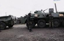 Ukraine's military targets pro-Russian separatists
