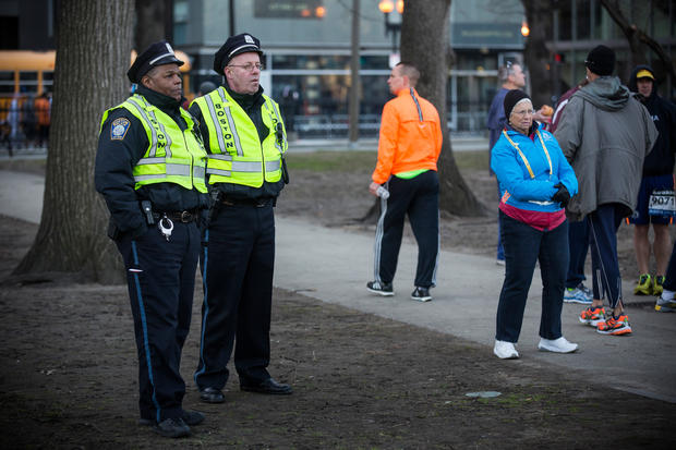 """Tight security for """"Boston Strong"""" marathoners"""