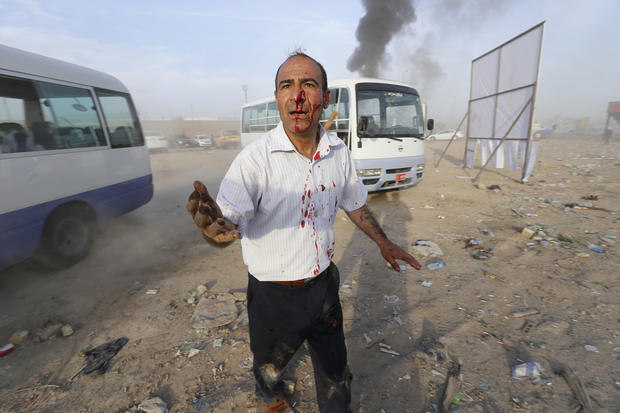 Violence looms over Iraqi election