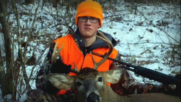 John David LaDue is seen in this picture obtained by CBS Minneapolis station WCCO-TV.
