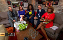 Oprah and Starbucks' Howard Schultz talk Oprah Chai Tea in the Toyota Green Room