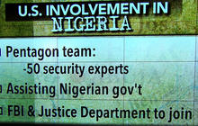 U.S. intelligence teams assisting Nigerians in kidnapping search
