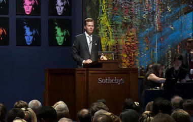 Warhol and Koons at Sotheby's: Behind The Scenes