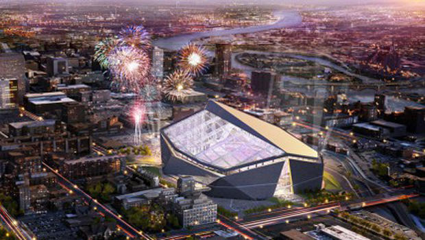 Image result for 2018 super bowl aerial view