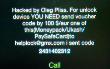 iPhone hackers demanding ransom to unlock victim's phones