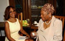 Gayle King remembers friend Maya Angelou