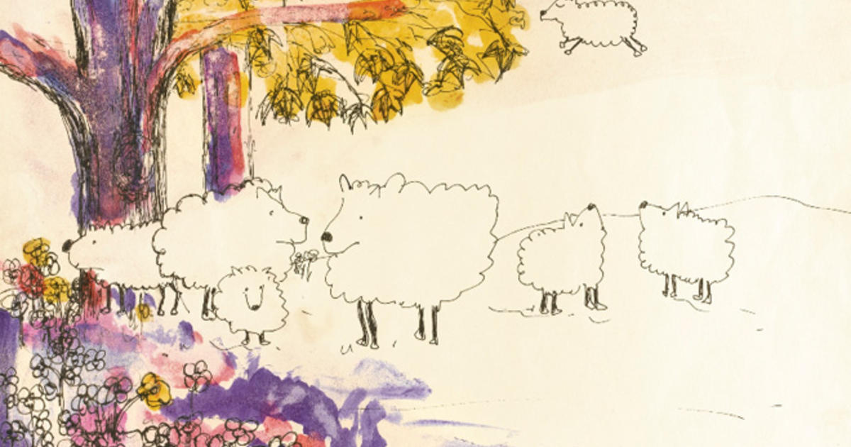 Bernice S Sheep John Lennon Drawings Up For Auction Cbs News