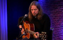 """Rich Robinson performs """"Down The Road"""""""