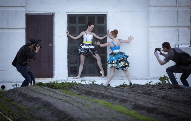 """""""Trashion"""" fashion show"""
