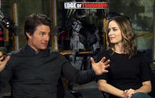"Tom Cruise, Emily Blunt on new action thriller ""Edge of Tomorrow"""