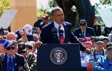 "Obama: ""These men waged war so that we might know peace"""