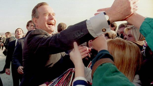 George H.W. Bush turns 90