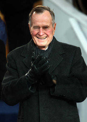 George H.W. Bush turns 90