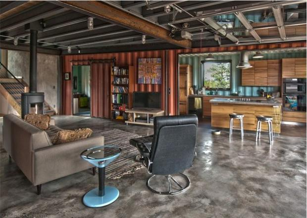 7 homes built with shipping containers cbs news - Wel designed shipping container homes for life inside the box ...