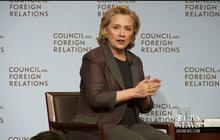 Hillary Clinton discusses Iraq insurgency