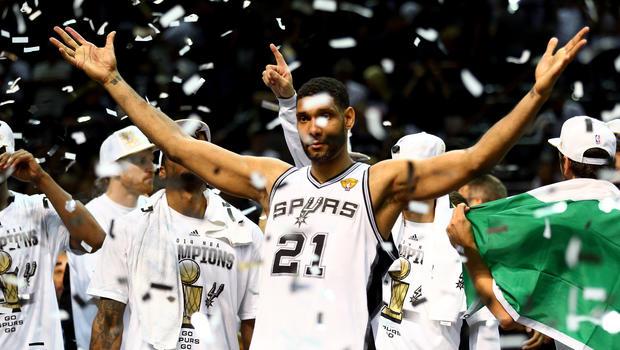 San Antonio Spurs win 5th NBA crown - CBS News