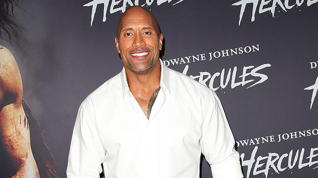 "Dwayne""The Rock""Johnson告别垂死的小狗"