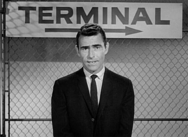 Image result for rod serling twilight zone photos
