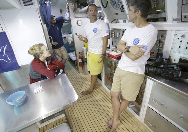 Fabien Cousteau Mission 31