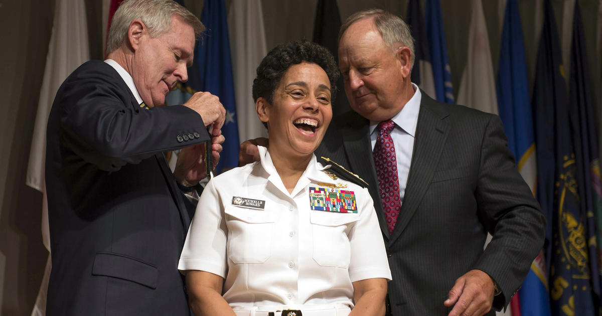 Navy Gets Its First Female Four Star Admiral CBS News