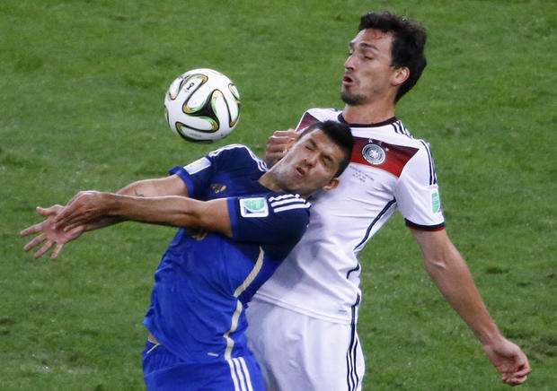 Soccer concussions debated after World Cup final