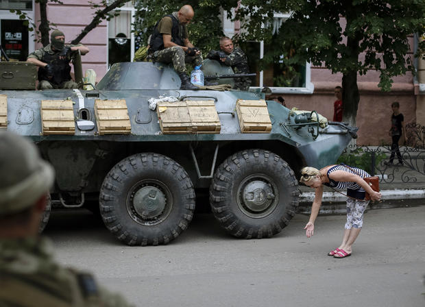 The battle for eastern Ukraine
