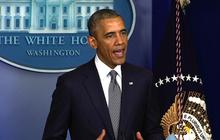 "Obama calls for ""credible international investigation"" of shot down plane"