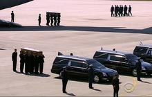 First victims of MH17 returned to European soil