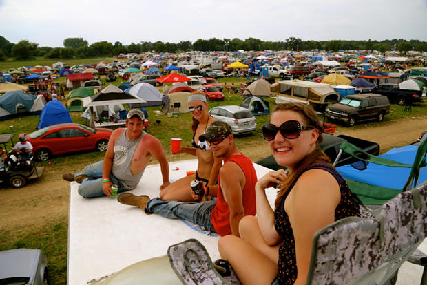 Scenes from 2014 Country Thunder
