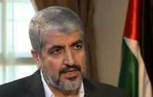 Hamas leader: No peace until Israel withdraws from Gaza