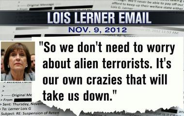 GOP: Lois Lerner's IRS e-mails show bias