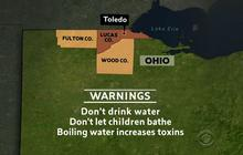 Toledo residents warned against toxins in water