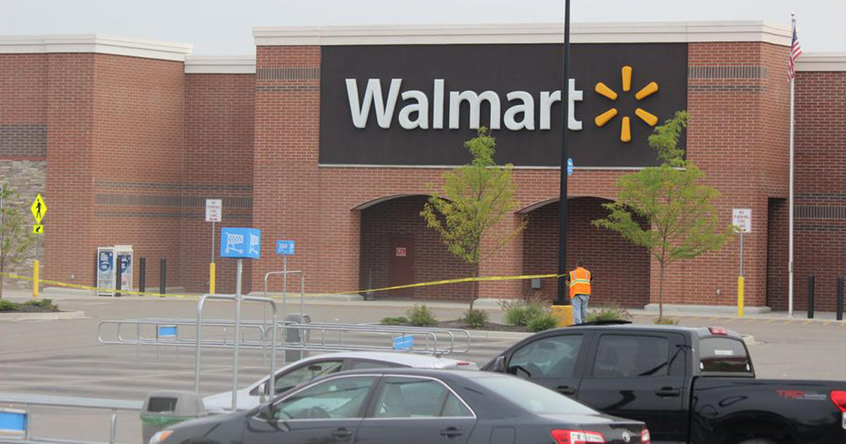 man on phone with father when shot by police in ohio walmart cbs news